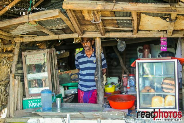 Seller, tea shop, Sri Lanka