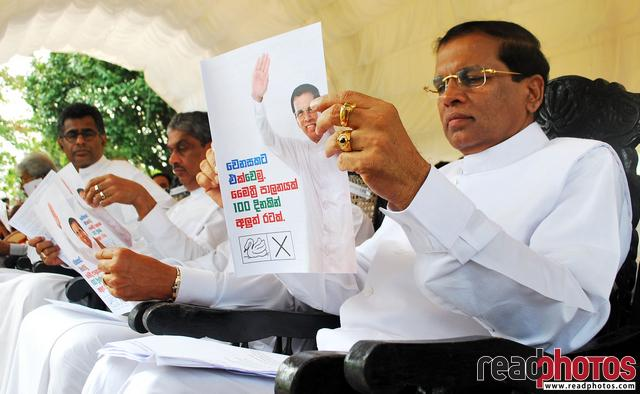 Presidential election 2015, Sri Lanka  - Read Photos