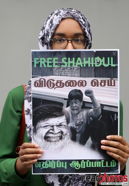 Protest, Free Shahidul. Colombo, Sri Lanka - Read Photos