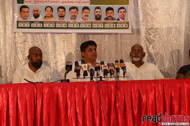 SJB election campaign - Sajith Premadasa at KKS on 02/07/2020