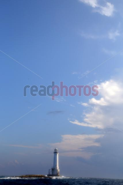 Light house, sea and the sky