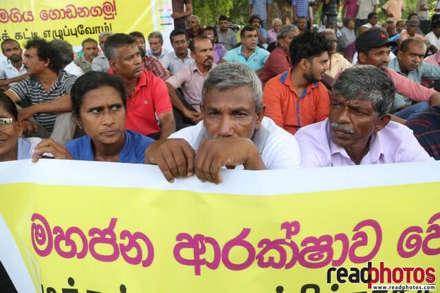 Protest against government after bomb attack 2019, Sri Lanka
