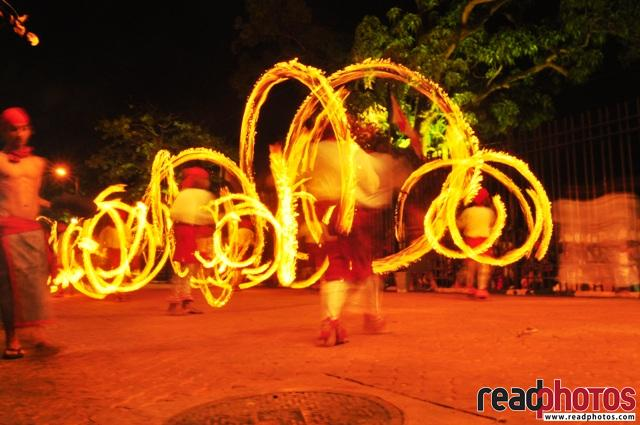 Playing with the fire, Sri Lanka - Read Photos