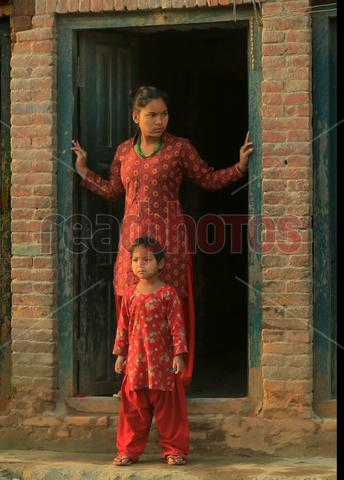 Sisters, Nepal - Read Photos