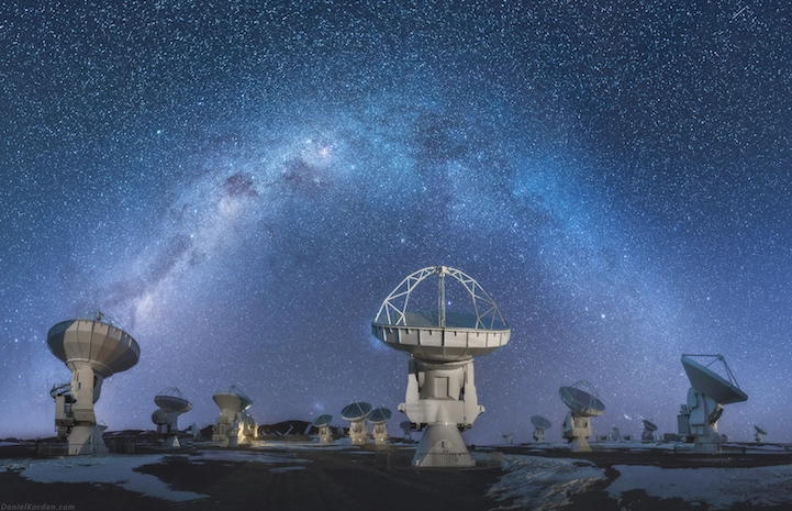 Milky Way Mirrored on Earth at the World's Largest Salt Flat