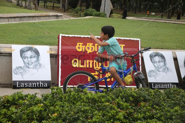 Black January protest by FMM Sri Lanka - Read Photos