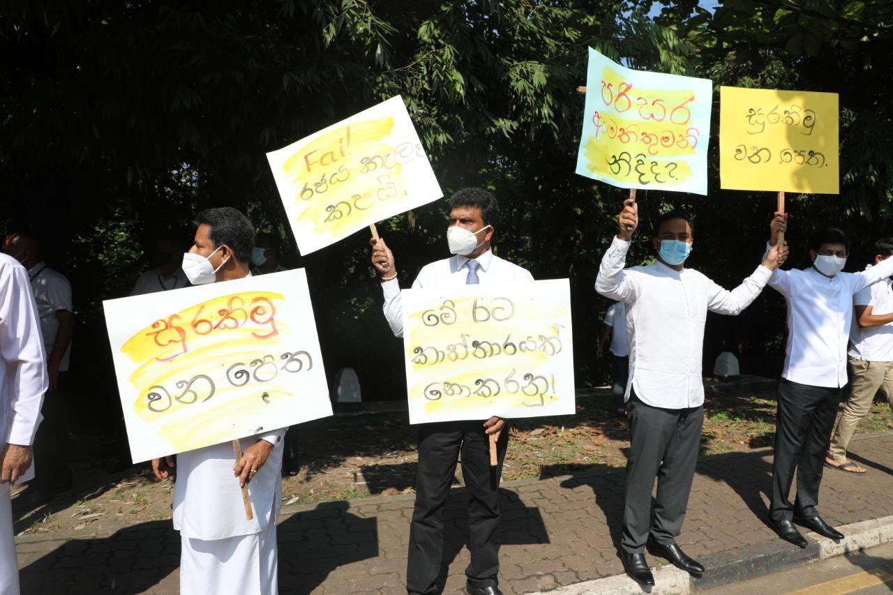 SJB protest against deforestation