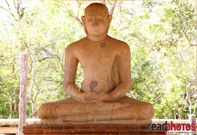 Samadhi buddha statue, Sri Lanka