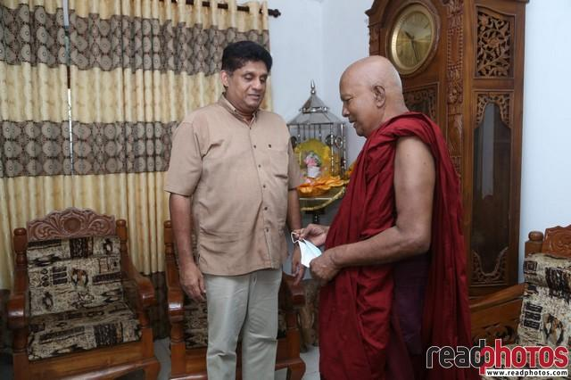 SJB election campaign - Sajith Premadasa at Mattakkuliya sri wikkramaramaya on 29/07/2020