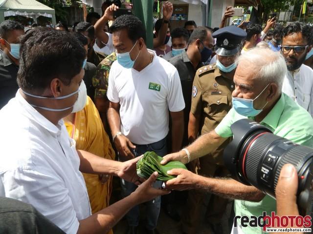 SJB election campaign - Sajith Premadasa at Rathnapura on 22/07/2020