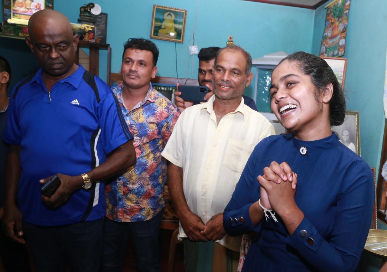 Sri Lankan Literature Personnel meets Bhagya Abeyrathne