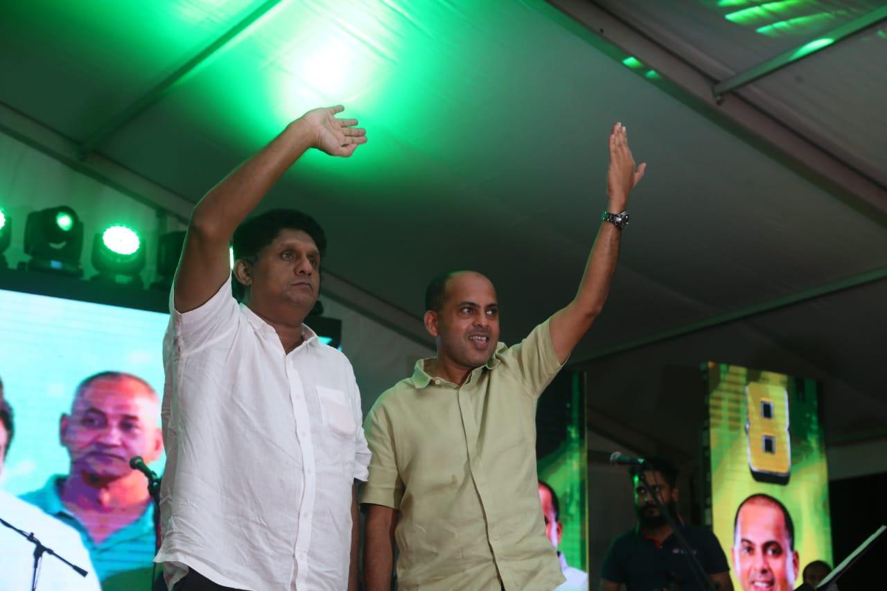 SJB election campaign - Sajith Premadasa at Kolonnawa on 02/08/2020