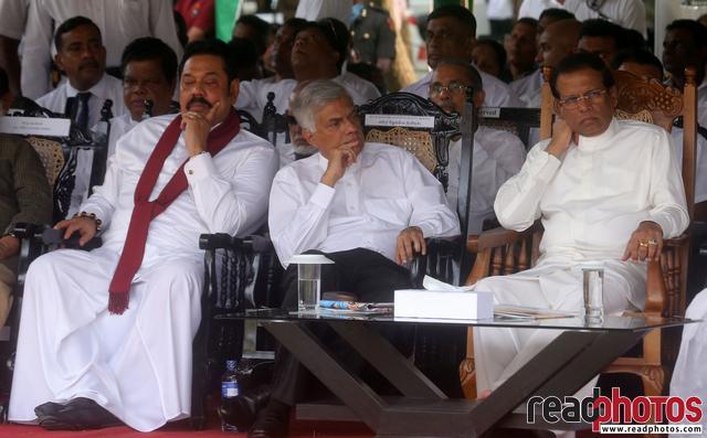 President, Prime Minister, Former President In Sri Lanka 2018 - Read Photos