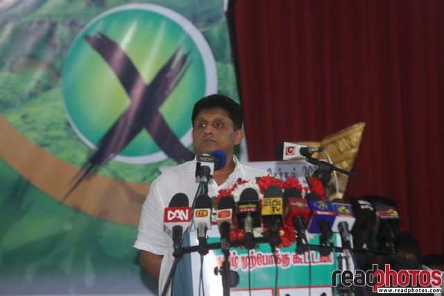 SJB election campaign - Sajith Premadasa at Hatton on 15/07/2020