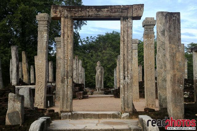 Ancient ruins,Buddha statue, Sri Lanka