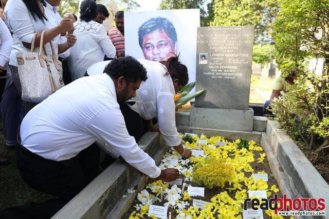 Lasantha Wickramathunga 10th Memorial (2) - Read Photos