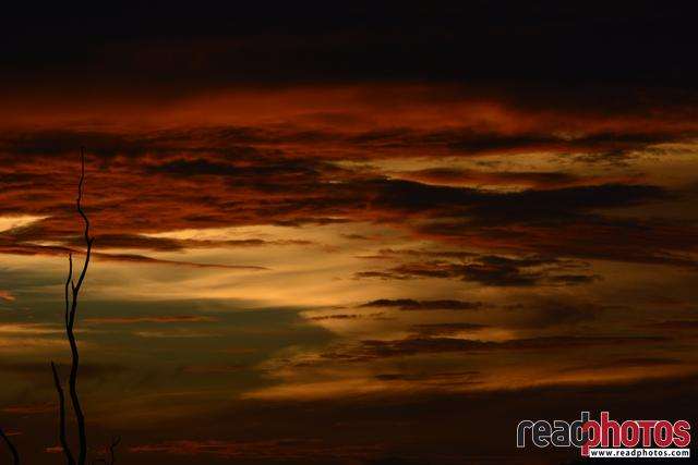 Evening cloudy sky, Sri Lanka - Read Photos