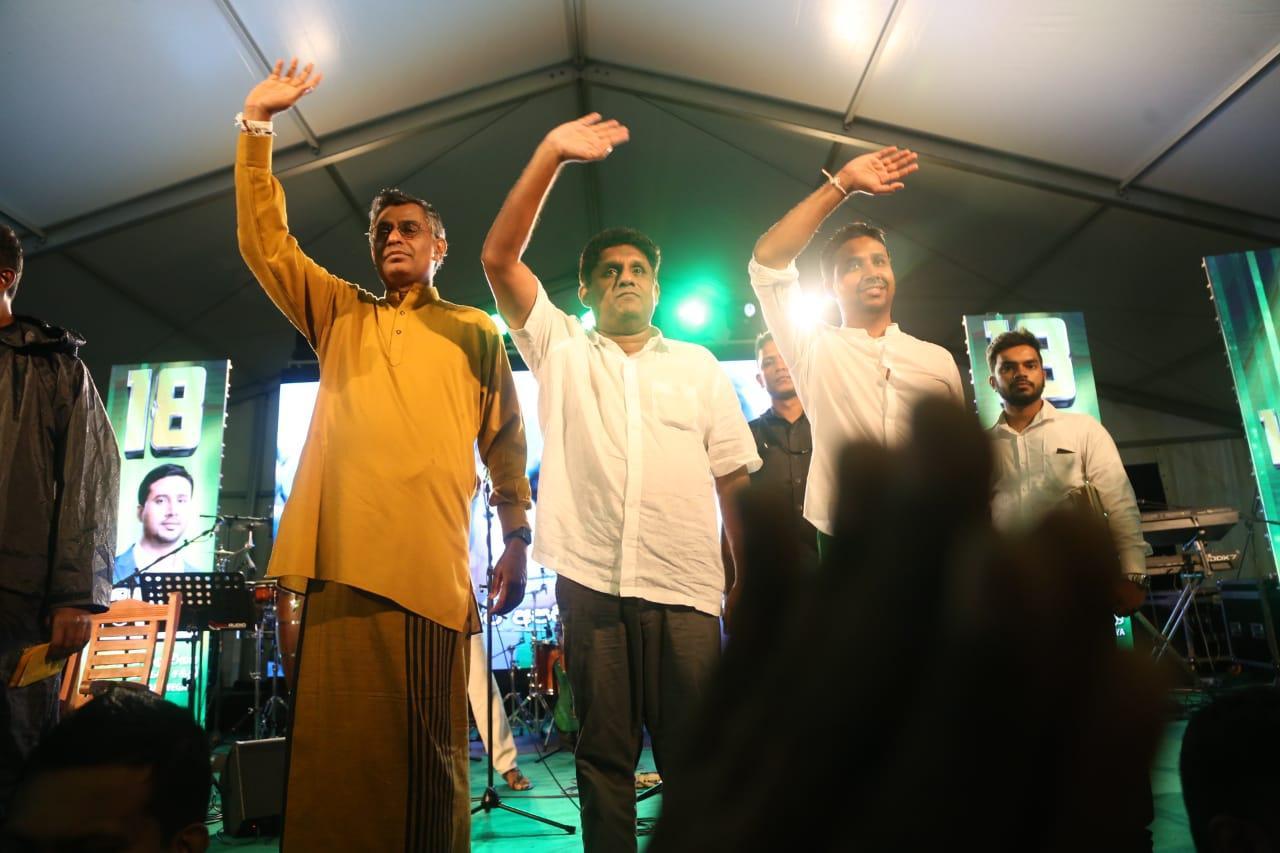 SJB election campaign - Sajith Premadasa at Colombo Centralon 02/08/2020