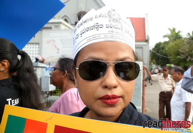 Civil society activist protest, Sri Lanka, 2018 (8)