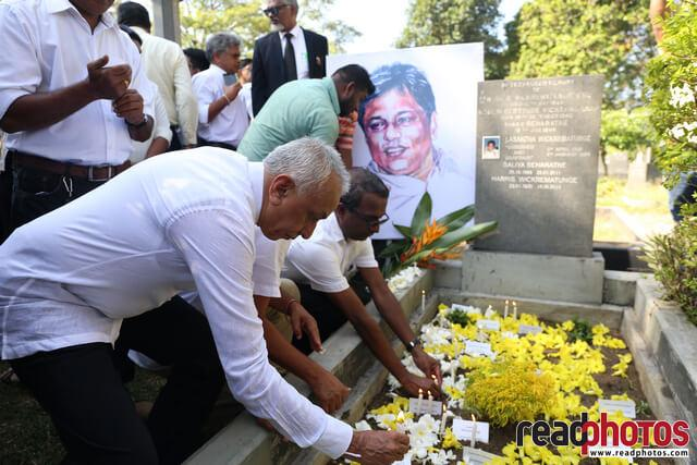 Lasantha Wickramathunga 10th Memorial (4) - Read Photos
