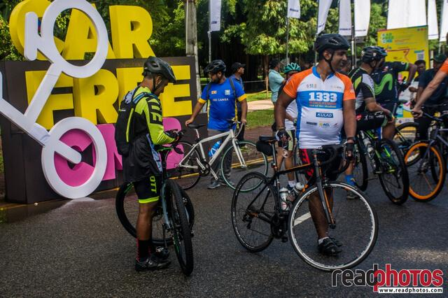 Car free CMB event, Colombo, Sri Lanka