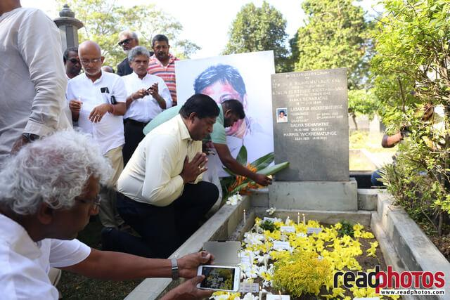 Lasantha Wickramathunga 10th Memorial (3) - Read Photos