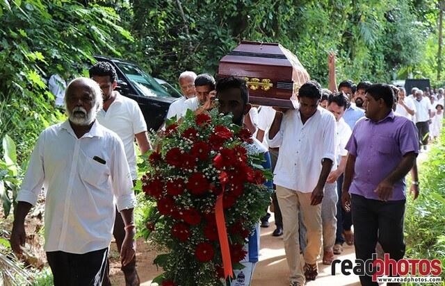 Premapaa Hewabatagamage funeral (9 - Read Photos