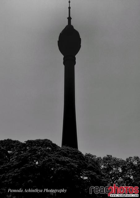 Lotus tower, mobile capture, Sri Lanka - Read Photos
