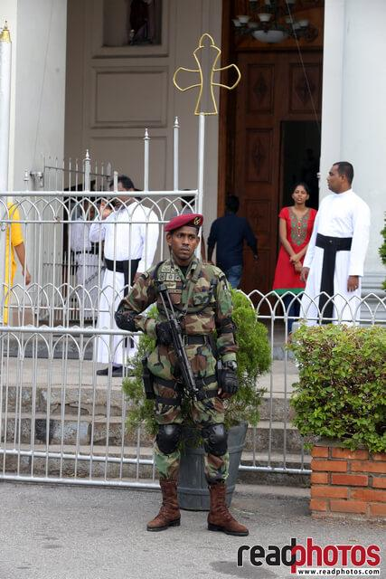 Memorial mass of 21st attack victims, Sri Lanka (10) - Read Photos