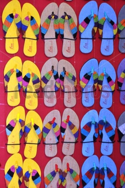 Colorful Slippers, Sri Lanka