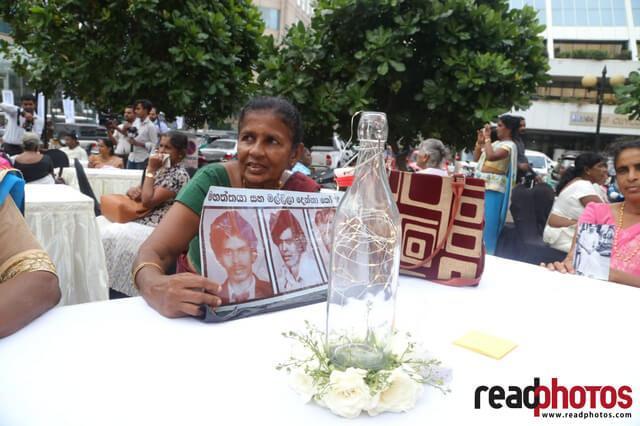 Missing person protest, Sri Lanka, 2019 (2) - Read Photos