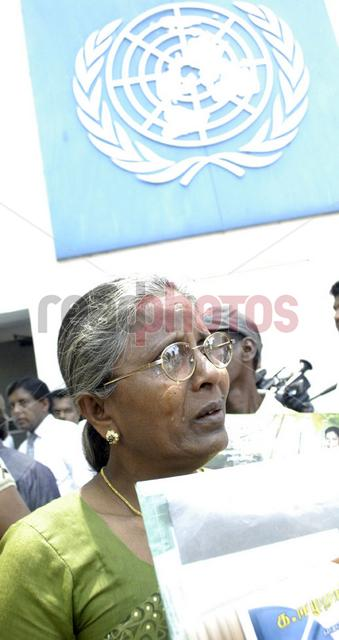 Protest for missing people in Sri Lanka, in front of the UN (4) - Read Photos