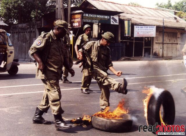 Opposition protest in 90s, Sri Lanka (3) - Read Photos