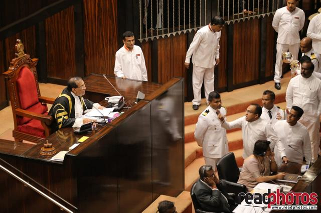 Parliament session November 2018, Sri Lanka (3) - Read Photos