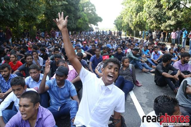 University student protest, Colombo 2019 (7) - Read Photos