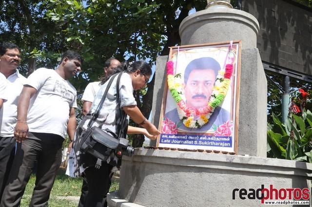 Journalist S.Sukirtharajan memorial 2020