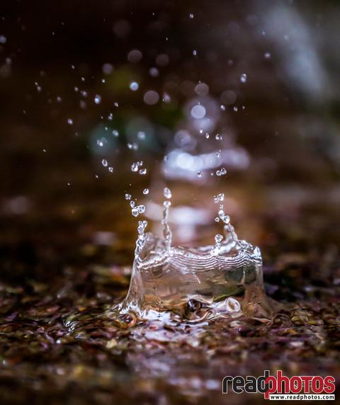 Water drop, capture