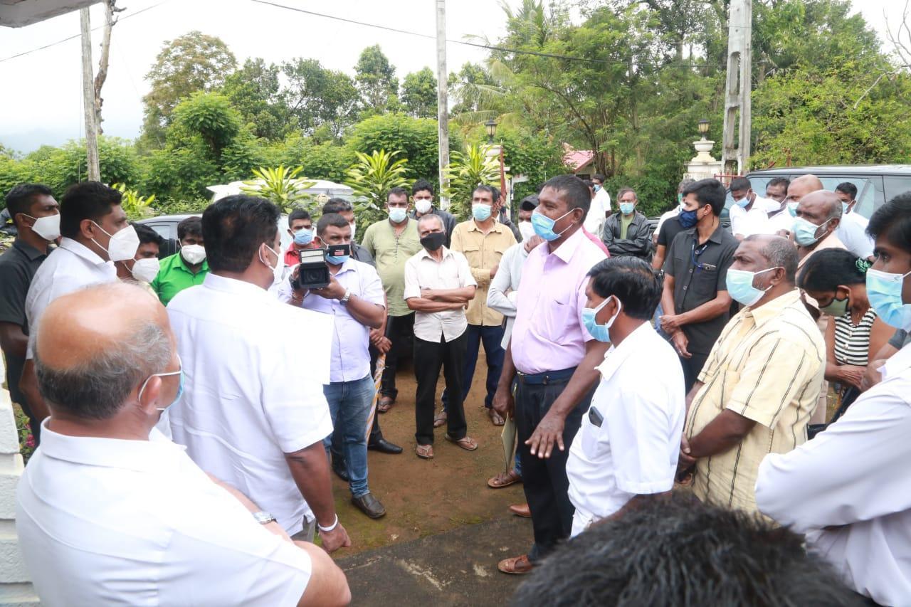 20/12/2020 Sajith Premadasa at Uva Paranagama