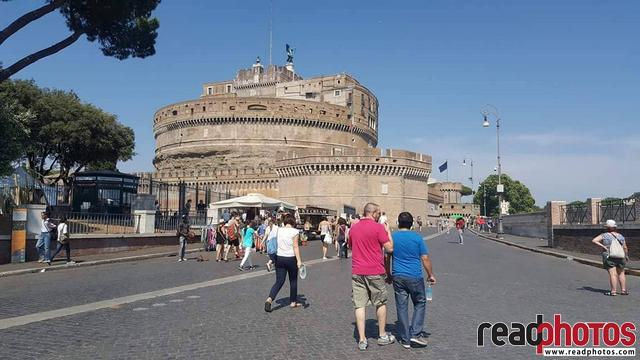 Castle Sant Angelo, mobile capture, Italy - Read Photos