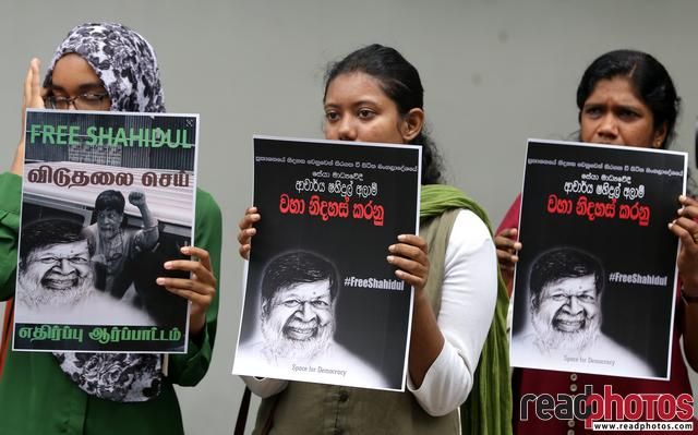 Protest, Free Shahidul. Colombo, Sri Lanka(2) - Read Photos