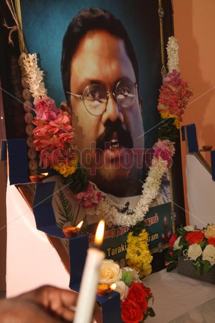 Death Annivesary of slain Sri Lankan journalist Sivaram at Killinochchi in 2017
