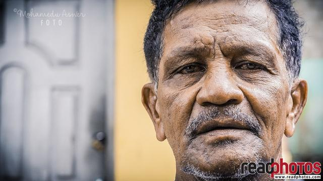 Middle aged man, Sri Lanka