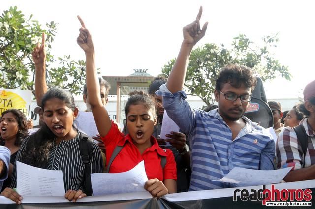Protest at Pettah, Sri Lanka 2018 (5)