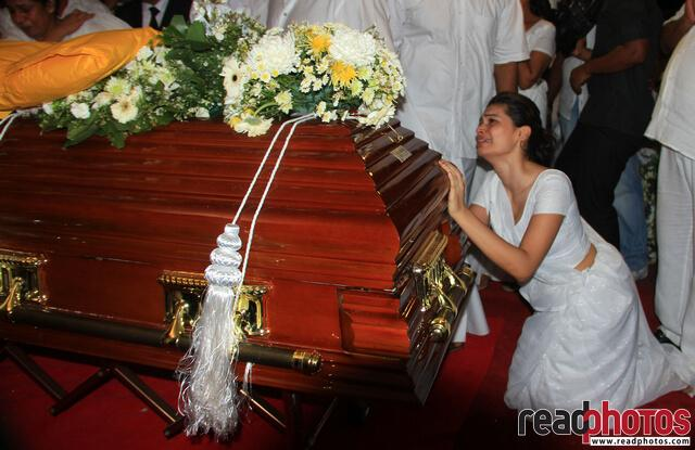 Bharatha Laskman Premachandra funeral, 2011 (1) - Read Photos