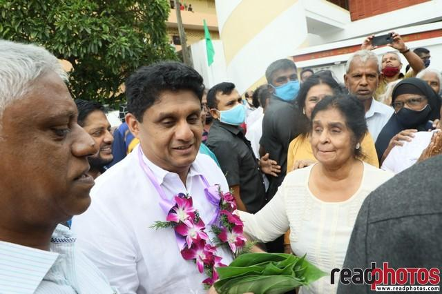Sajith Premadasa pays gratitude to his supporters and voters