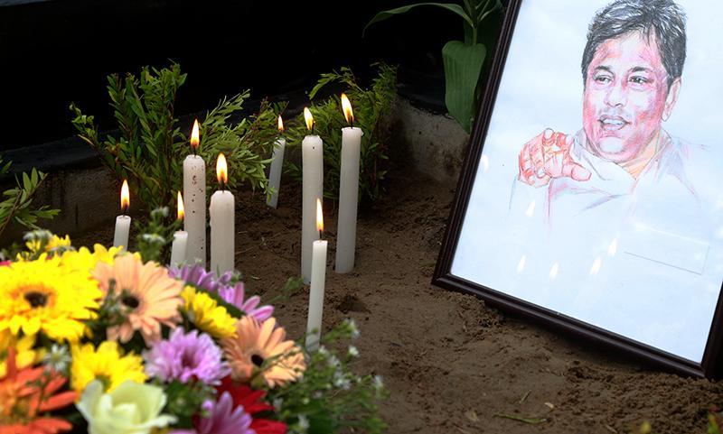 12th memorial day of Lasantha wickrematunge