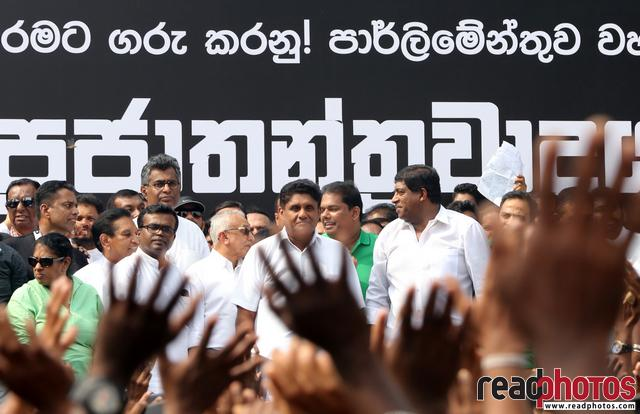 UNP protest Kollupitiya 2018 (2) - Read Photos