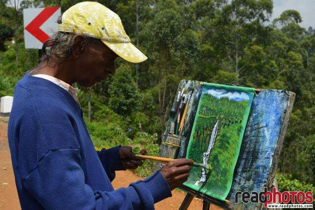 Street Painter, Sri Lanka - Read Photos