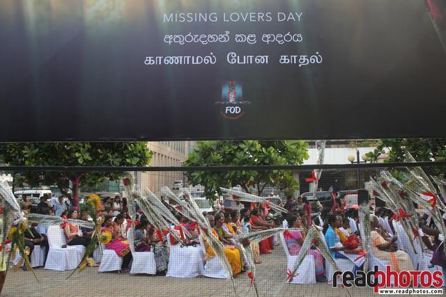 Valentine Day for Families of the Disappeared in Sri Lanka 201, new - Read Photos