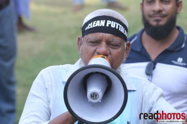 Clean Puttalama protest, Sri Lanka (1)